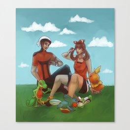 Hoenn Adventure Canvas Print