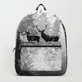 Winter Deer Backpack