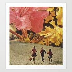 little flowers... Art Print