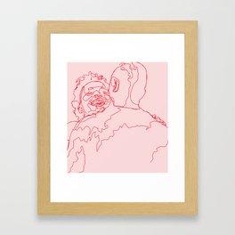 Meet Cute Framed Art Print