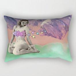 Pastel Rockets Rectangular Pillow