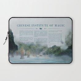 Wizarding Schools Around the World: China Laptop Sleeve
