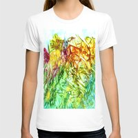 kaleidoscope T-shirts featuring Kaleidoscope by Rosie Brown