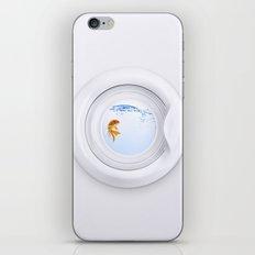 (Very) Clean Goldfish iPhone & iPod Skin