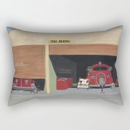 The Old Firehouse Rectangular Pillow