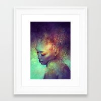 camouflage Framed Art Prints featuring Camouflage by Anna Dittmann