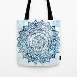 BLUE JEWEL MANDALA Tote Bag