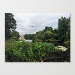 Royal British Garden Park Canvas Print