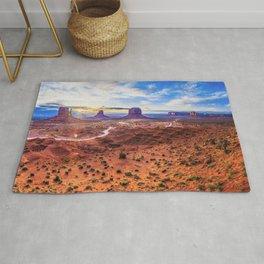 Monument Valley, Utah No. 2 Rug