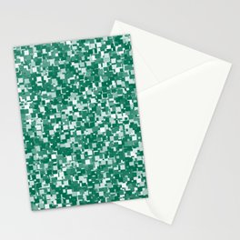 Lush Meadow Pixels Stationery Cards