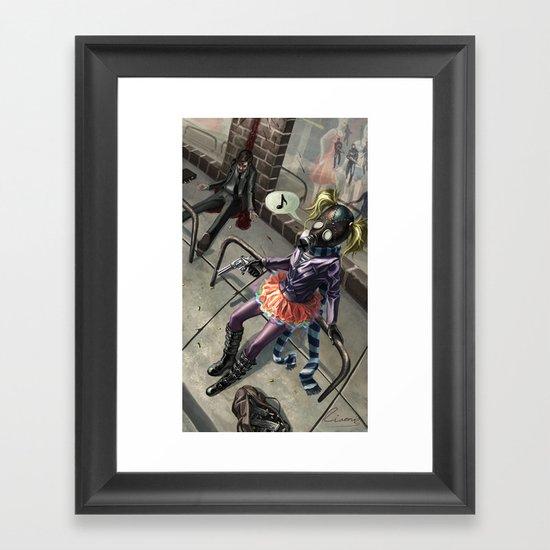 Murdergirl Framed Art Print