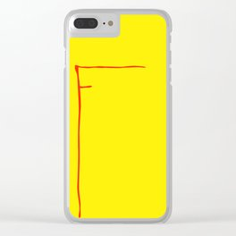 F McDonalds Clear iPhone Case