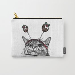 Bored Cat Carry-All Pouch