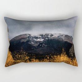 Yellow Tree Moutain Rectangular Pillow