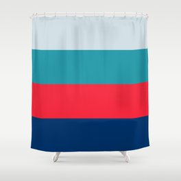 Four Brights Shower Curtain