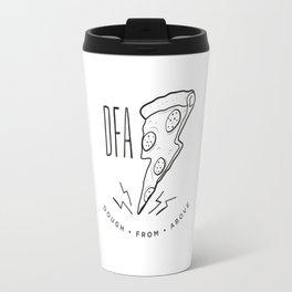 DFA White Travel Mug