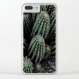 Cactus Bunch Clear iPhone Case