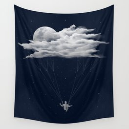 Skydiving Wall Tapestry
