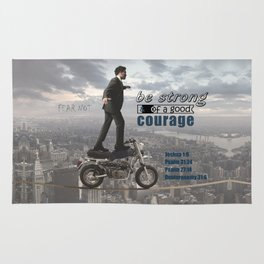 Have Courage Rug
