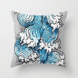 Seven Seas Throw Pillow