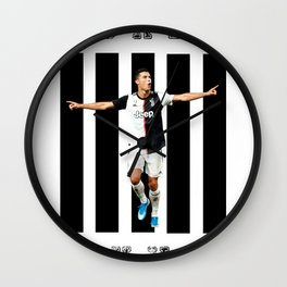 football star Wall Clock