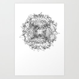 Fairy Fish Art Print