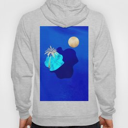 Golden Islands - Royal Blue Minimalist Hoody