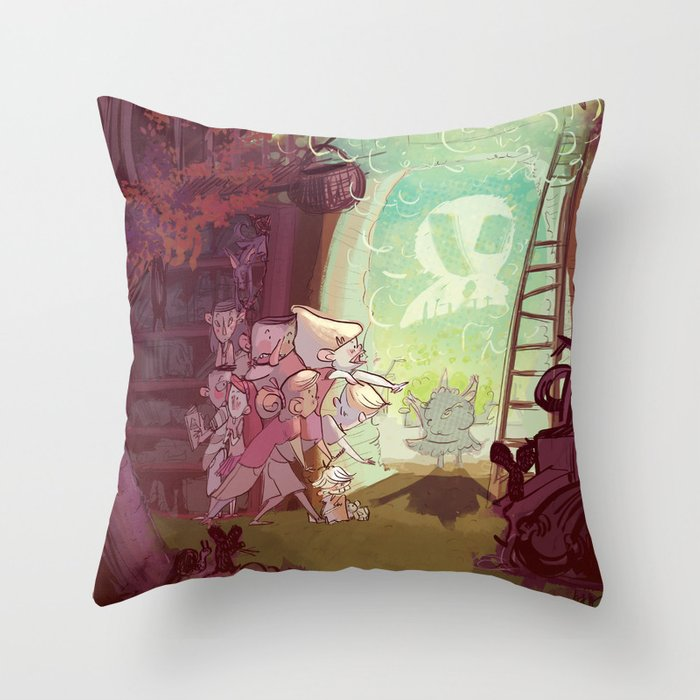 Bewitched! Throw Pillow