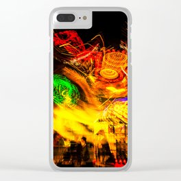 explosion of colors Clear iPhone Case