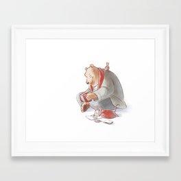 Ernest et Celestine Framed Art Print