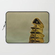 Atlante 03-07-16 / ORANGE in BLUE Laptop Sleeve