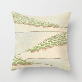 Minimalist Trees Throw Pillow
