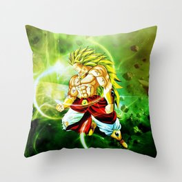 Broly Legendary Throw Pillow