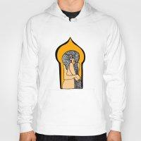 santa monica Hoodies featuring Monica by Joe Pansa