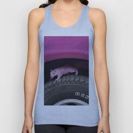 Up & down the wheel I go Unisex Tank Top