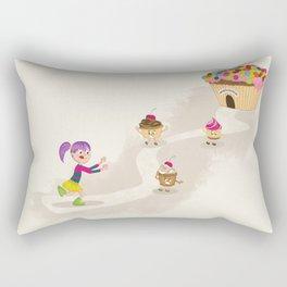 Cupcake Maniac Rectangular Pillow