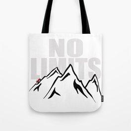 Jeep climb - No limits (Red) Tote Bag