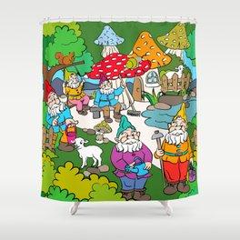 Dwarves Shower Curtain