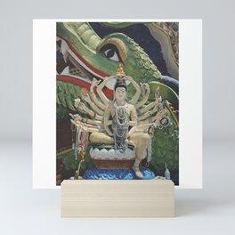 Guanyin Goddess with Pearls Mini Art Print