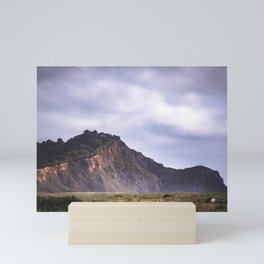 View of seaside cliff Mini Art Print