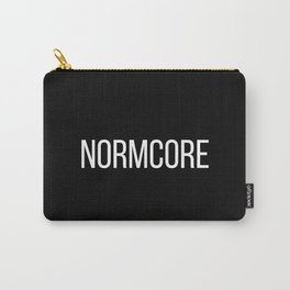 NORMCORE black Carry-All Pouch