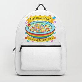 Eat Breakfast! Backpack