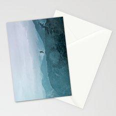 Blue smoky mountains Stationery Cards