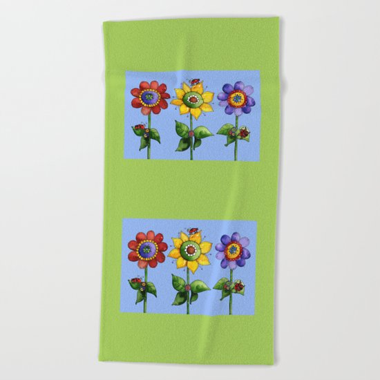 The Three Amigos Beach Towel