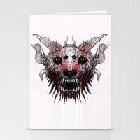 beast Stationery Cards featuring Beast by WES EXOTIC IMAGERY