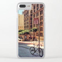 City Wanderlust Clear iPhone Case
