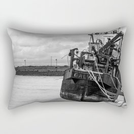"""Galway Fishing Boat II"" Rectangular Pillow"