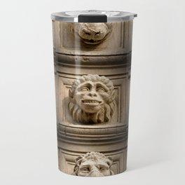 Faces Travel Mug