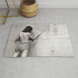 Only shades of Gray Rug