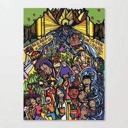 Revelation 22 Canvas Print